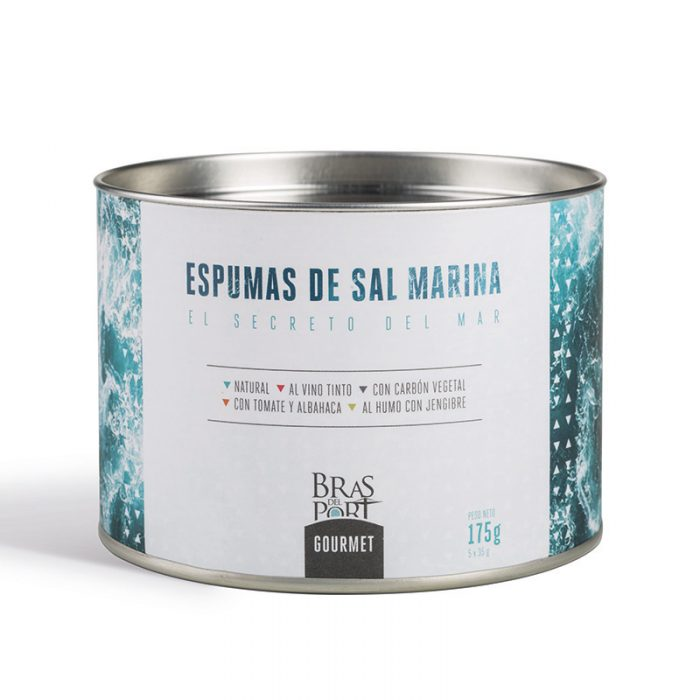 Pack 5 variedades de escama de sal marina 175 g