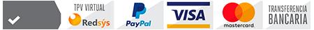 Logotipos de las plataformas de pago online