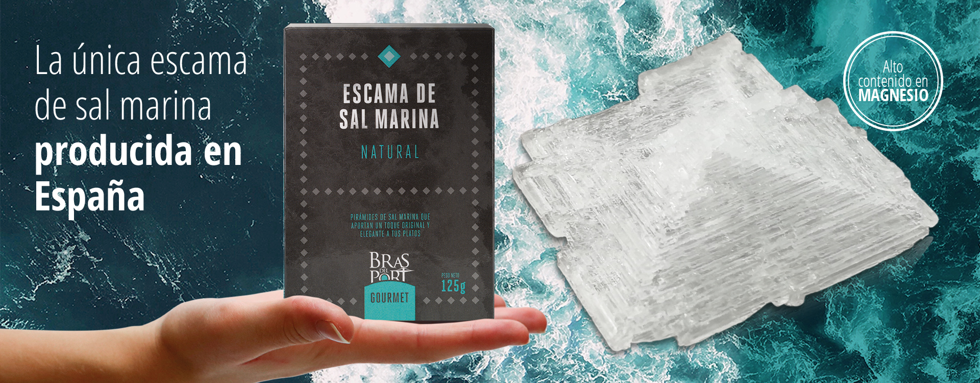 Slider Escama de sal marina