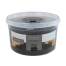 Cubo de espuma de sal marina con carbón 600 g