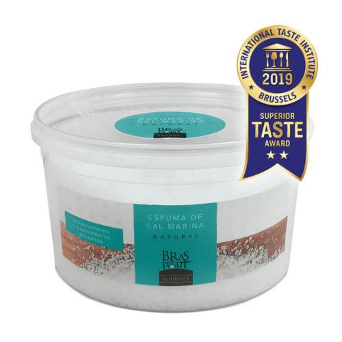 Cubo de espuma de sal marina natural 600 g Superior Taste Awards
