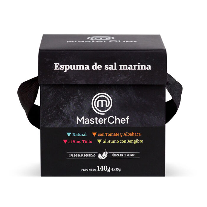 Pack de espumas MasterChef Polasal vista frontal