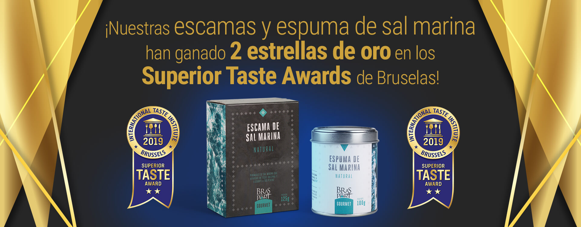 Portada Superior Taste Awards tienda