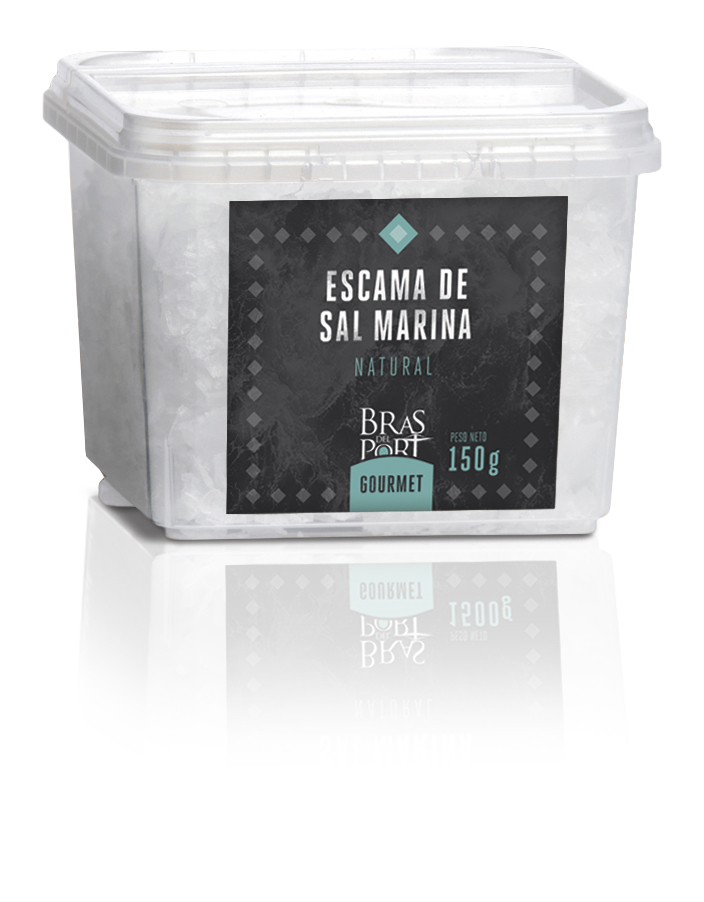 Bote de escama natural de 150g