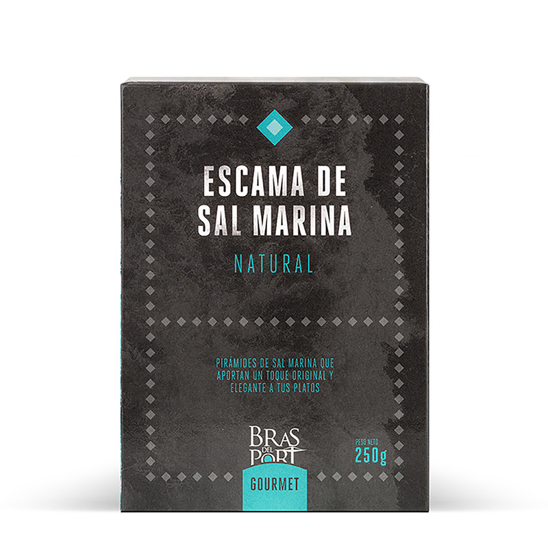 Paquete de escama natural 250 g vista frontal