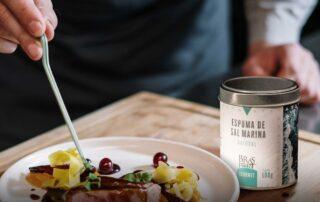 Foto post blog espuma de sal y alta gastronomía