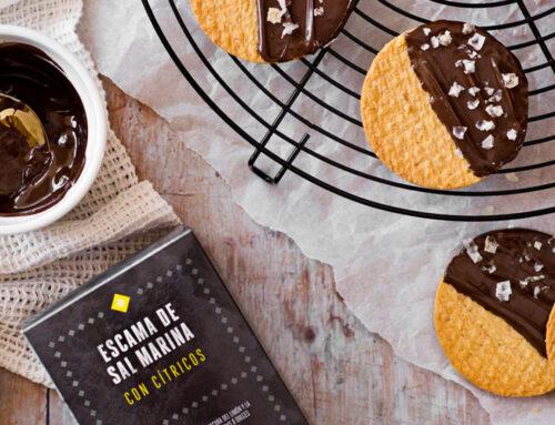 Sal en escamas y chocolate: La pareja ideal