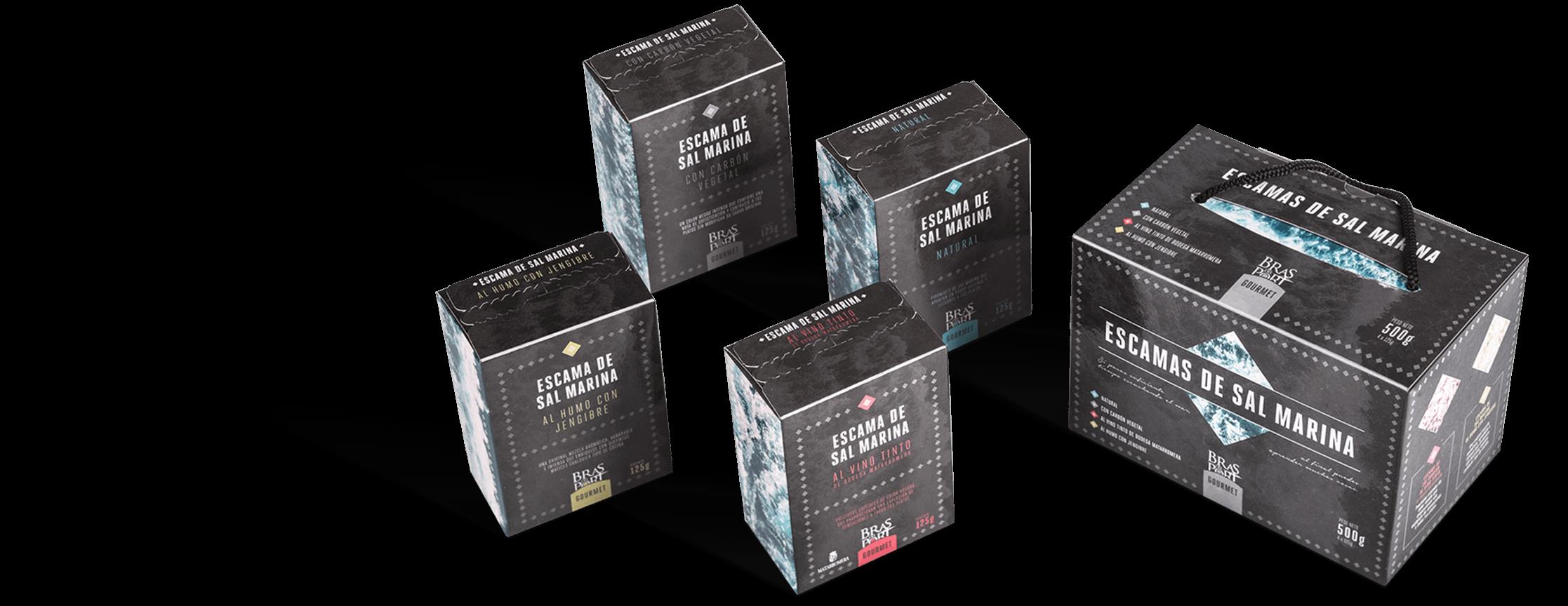 Pack con variedades de escama